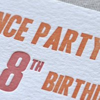 Custom Letterpress and Design
