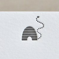 Blank Letterpress Notes